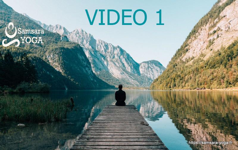 Yoga chez soi : video#1